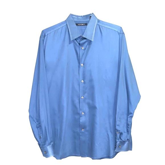 AXIST long sleeved button down dress shirt. XL.